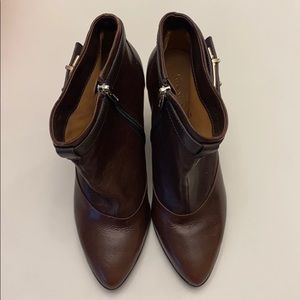 Coach Size 9 'Melody' Booties with Heel